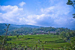 A village at Java Indonesia Royalty Free Stock Image