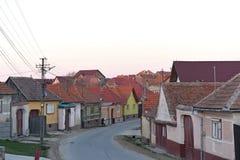 Village of Jina Sibiu county, Transylvania,. Romania Stock Images