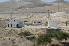 Village in Judea desert Royalty Free Stock Photo