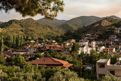 The Village of Kakopetria. Nicosia District, Cyprus Royalty Free Stock Images