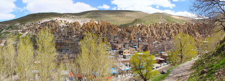 Village Kandovan, Iran Royalty Free Stock Photography