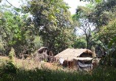 Village of the Karen tribe Stock Images