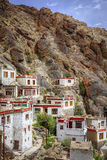 Village in Kashmir. Small mountain village in Ladakh province of India Royalty Free Stock Photo