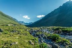 Village of Kavrun plateau or tableland in Kackar Mountains. Or simply Kackars in Camlihemsin, Rize, Turkey Stock Photo