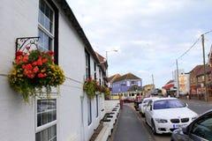 Village Kent England R-U de Dymchurch Images stock