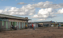 Village in Kenya Royalty Free Stock Photos