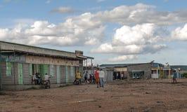 Village in Kenya Royalty Free Stock Photos