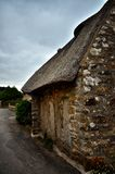 Kerascoet, traditional village in Brittany France Stock Photography