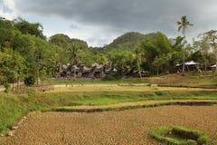 Village of Kete kesu stock image