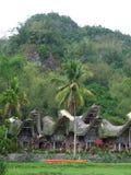 Village of Ketu Kesu in Tana Toraja Stock Photos
