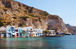 Village of Klima. Milos Island, Greece. Stock Photos