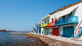Village of Klima. Milos Island, Greece. Stock Photography