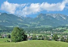 Village of Koessen,Tirol,Austria Stock Photography