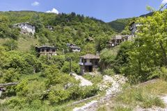 Village of Kosovo with Authentic nineteenth century houses, Plovdiv Region, Bulgaria. View of village of Kosovo with Authentic nineteenth century houses, Plovdiv royalty free stock photography