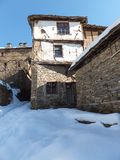 Village of Kovachevitsa with Authentic nineteenth century houses, Blagoevgrad Region Royalty Free Stock Image