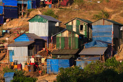 Village  ,  Kyaikto in Myanmar (Burmar) Royalty Free Stock Image