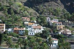 A village in La Gomera , the Canary Islands Stock Photo