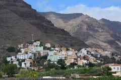 A village in La Gomera , the Canary Islands Stock Photos