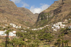 Village on La Gomera, Spain Royalty Free Stock Images