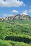 Village of La Morra,Piedmont,Italy stock photos