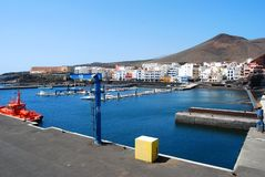 Village of La Restinga, El Hierro Stock Photography