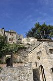 Village of Lacoste,Luberon, France Stock Photos