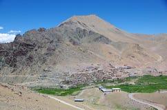 Village in Ladakh, India Stock Image