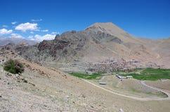 Village in Ladakh, India Stock Images