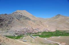 Village in Ladakh, India Royalty Free Stock Image
