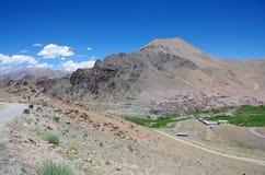 Village in Ladakh, India Royalty Free Stock Photography