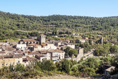 Village of Lagrasse Stock Photography