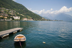 Village at Lake Como Royalty Free Stock Photography
