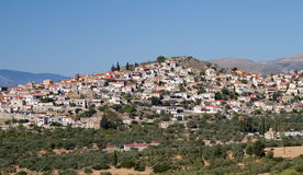 Village In Lakonia, Greece Royalty Free Stock Image