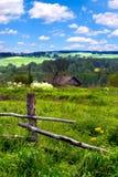 Village landscape Royalty Free Stock Photo