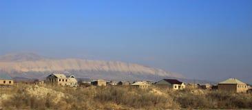 Village landscape in Armenia Stock Photo