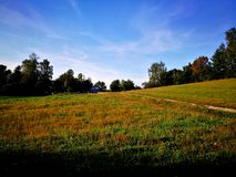 Polish village landscape stock image. Image of landscape ...