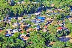 Village Landscape, Mandalay, Myanmar Royalty Free Stock Image