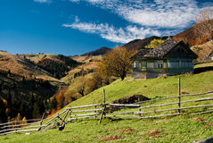 Village landscape in Romania Royalty Free Stock Photos