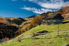 Village landscape in Romania royalty free stock photos