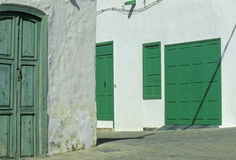 Village on Lanzarote no.1 Royalty Free Stock Image