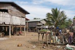 Village, Laos, Asia Stock Photo
