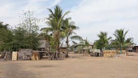 Village, Laos, Asia Royalty Free Stock Images