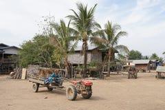 Village, Laos, Asia Royalty Free Stock Photo