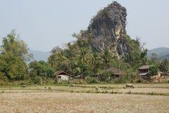 Village, Laos, Asia Stock Image