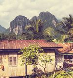 Village in Laos Royalty Free Stock Photo