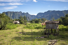 Village in Laos Stock Images