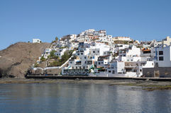 Village Las Playitas. Fuerteventura, Spain stock images