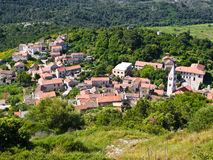 Village Lastovo Stock Image