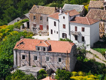 Village Lastovo Royalty Free Stock Photography