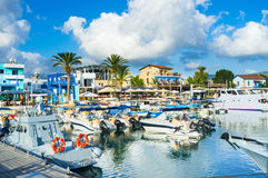 The village of Latchi Royalty Free Stock Image